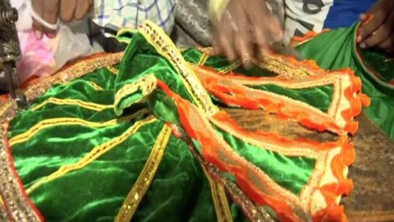 ಶ್ರೀರಾಮನಿಗಾಗಿ ಸಿದ್ಧವಾಯ್ತು ನವರತ್ನ ಖಚಿತ ಉಡುಗೆ