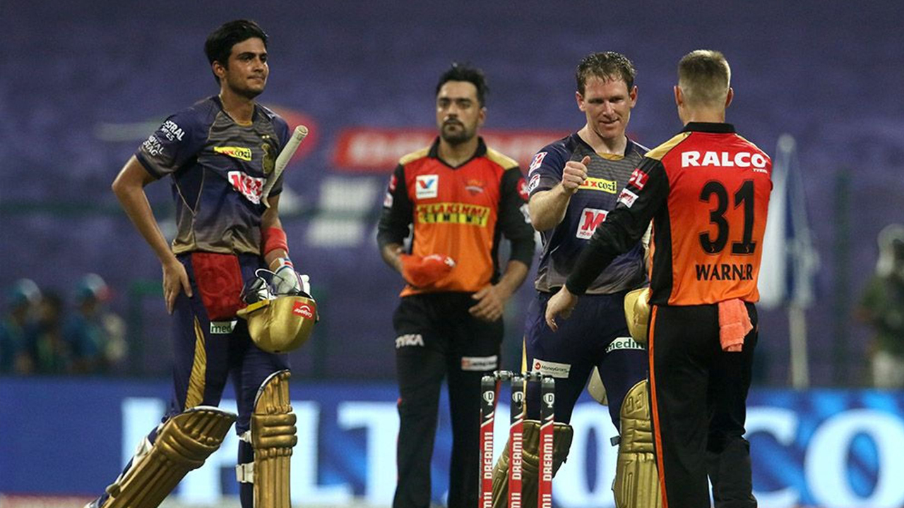 IPL 2020: ಕೊಲ್ಕತ್ತಾ ಹಾಗೂ ಹೈದರಾಬಾದ್ ನಡುವಿನ ಸಮರ ಹೀಗಿತ್ತು, Photo ನೋಡಿ