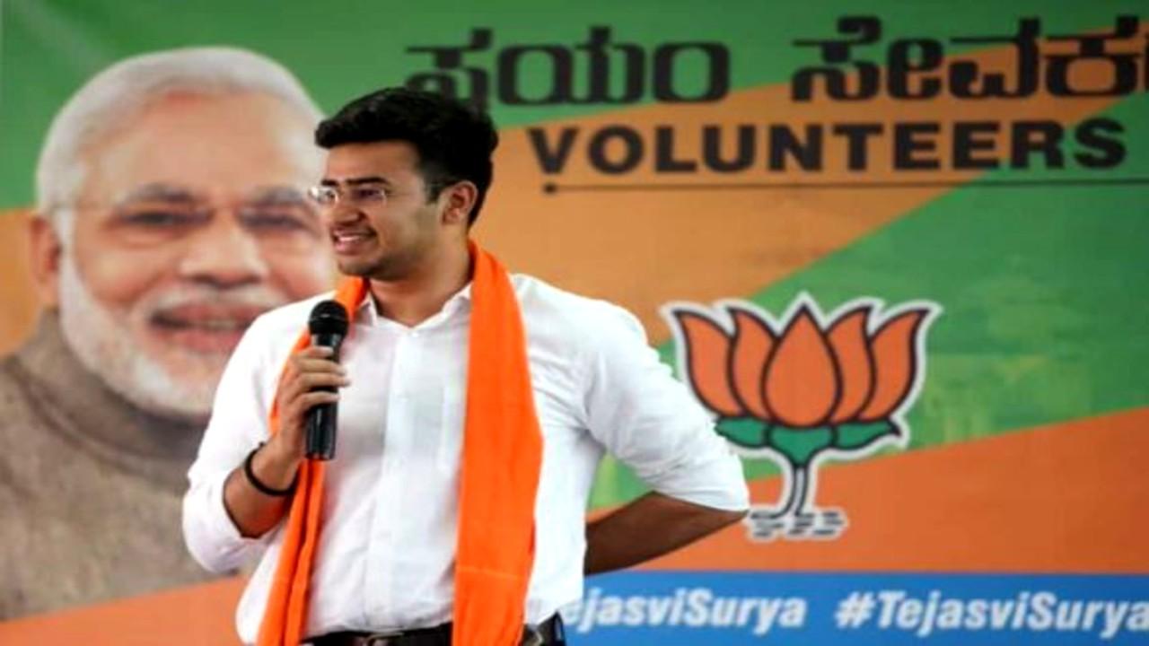 BJP ರಾಷ್ಟ್ರೀಯ ಯುವಾ ಮೋರ್ಚಾ ಅಧ್ಯಕ್ಷರಾಗಿ ಸಂಸದ ತೇಜಸ್ವಿ ಸೂರ್ಯ ನೇಮಕ