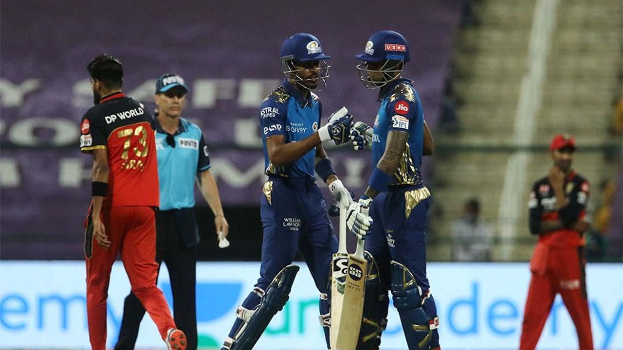 IPL 2020: ಆರ್ಸಿಬಿ ನಂ.1 ಪಟ್ಟಕ್ಕೆ ಮುಂಬೈ ತಣ್ಣೀರೆರಚಿದ ಫೋಟೊಗಳು..
