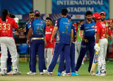IPL 2020: 2ನೇ ಸೂಪರ್ ಓವರ್ನಲ್ಲಿ ಮುಂಬೈಗೆ ಪಂಜಾಬ್ ಸೋಲುಣಿಸಿದ ಫೋಟೊಗಳು..