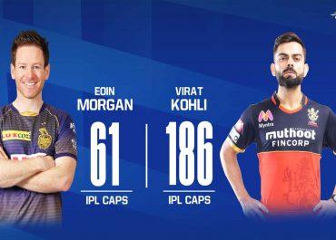 IPL 2020: RCB vs KKR Live Score ಆರ್ಸಿಬಿ ಗೆಲುವಿನ ಓಟಕ್ಕೆ ಕೊಲ್ಕತ್ತಾ ಬ್ರೇಕ್ ಹಾಕುತ್ತಾ?