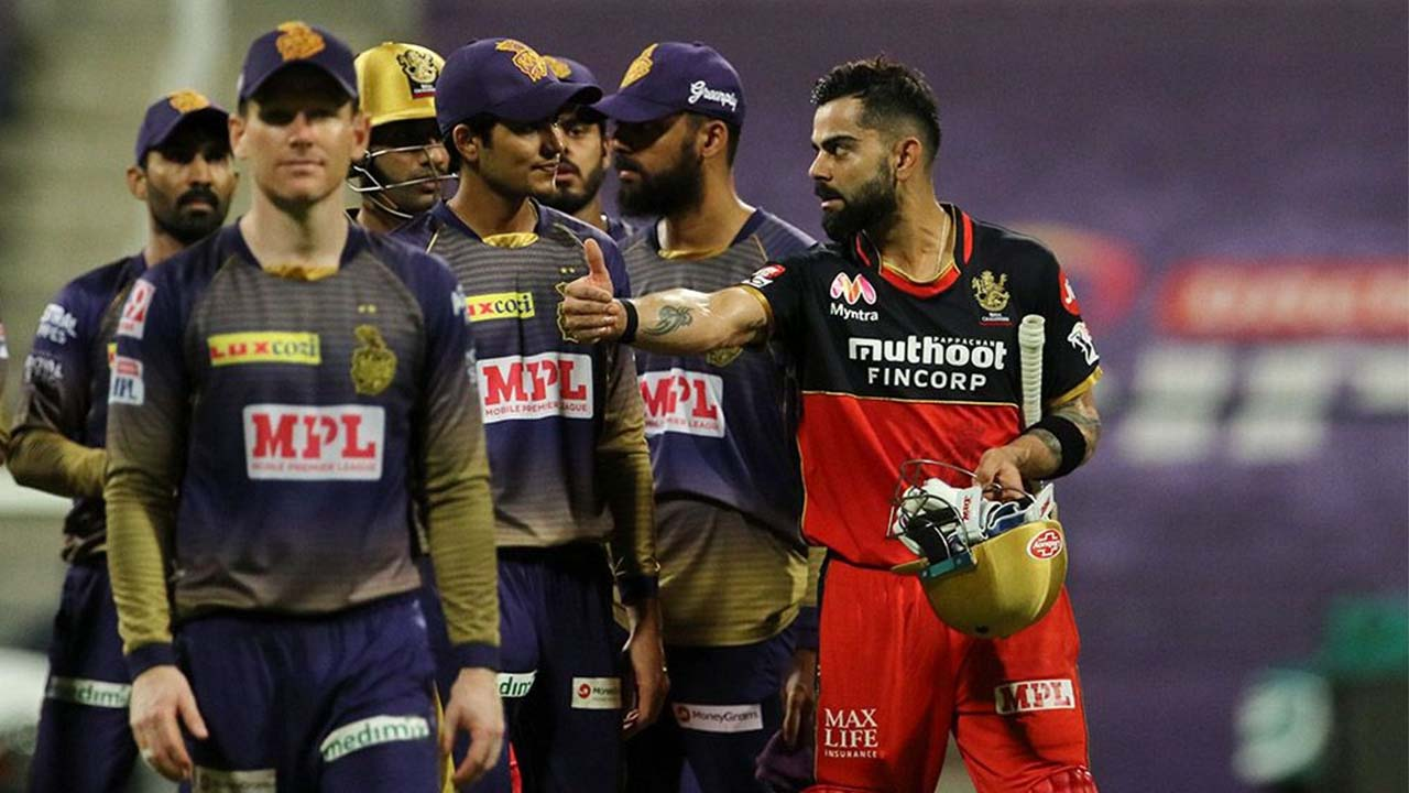 IPL 2020: ಕೊಲ್ಕತ್ತಾ ಮೇಲೆ ಕೊಹ್ಲಿ ಹುಡುಗರು ದರ್ಬಾರ್ ನಡೆಸಿದ ಫೋಟೋಗಳಿವು..