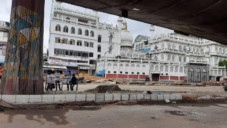KR Market Bus stand Bangalore