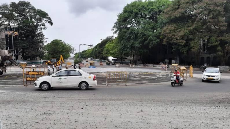 Anil Kumble Circle, MG Road, Bangalore