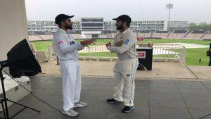 ICC WTC Final 2021: ವಿಶ್ವ ಟೆಸ್ಟ್ ಫೈನಲ್ ಪಂದ್ಯ ಆರಂಭಕ್ಕೂ ಮುನ್ನ ಭಾರತ-ನ್ಯೂಜಿಲ್ಯಾಂಡ್ ತಂಡದ ಫೋಟೋ ಸೆಷನ್